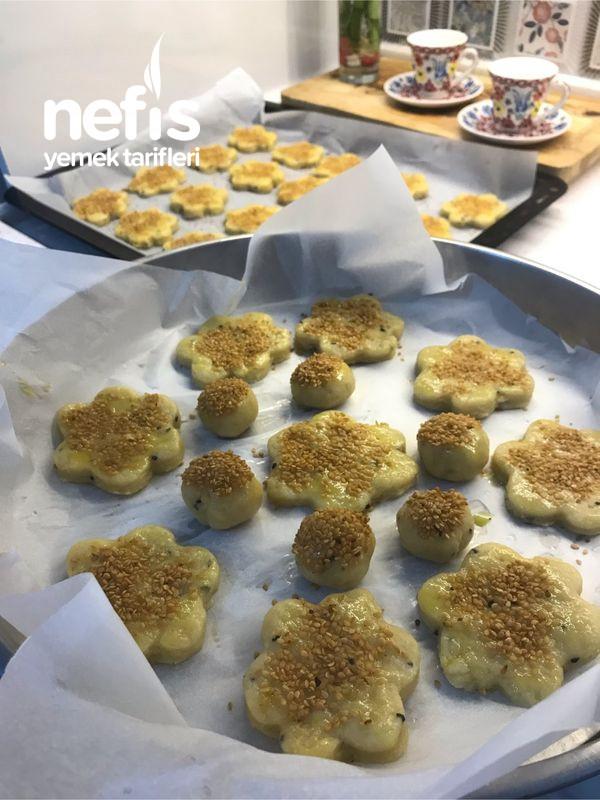 Çörek Otlu Kıyır Kurabiye (Hazır Kurabiyeden Daha Güzel)