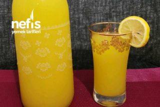 Dondurulmuş Portakal Ve Limondan Limonata Yapımı Tarifi