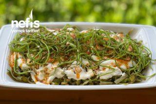 Taze Fasülye Salatası Tarifi