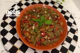 En Pratik Patlıcan Salatası Tarifi