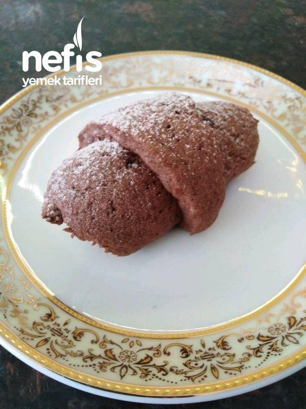 Pitter Çikolatalı Toz Pudingli Elmalı Kurabiye