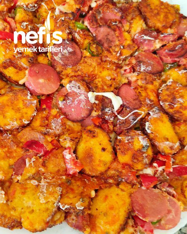 Simit Pizzası (Bayat Simitlerinizi Değerlendirmenin En Lezzetli Yolu)
