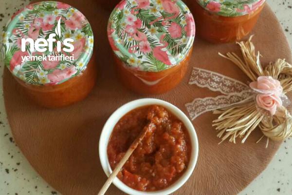 Patlıcanlı Sos ( Ajvar Sos)