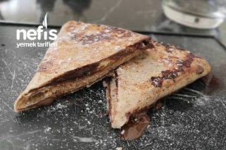 Tortilla Wrap (Lavaş Kolay Tatlı) Tarifi