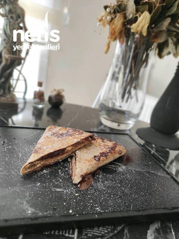 Tortilla Wrap (Lavaş Kolay Tatlı)