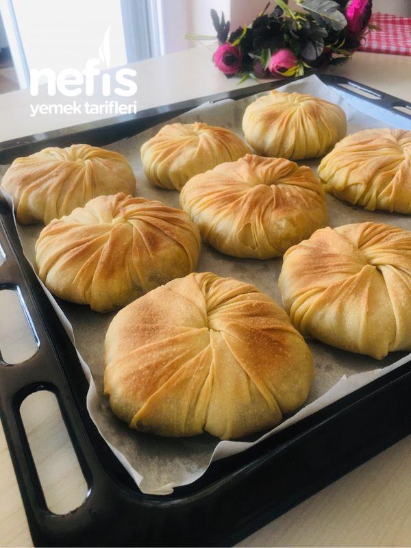 Patatesli Kıymalı Burgu Böreği (Videolu)