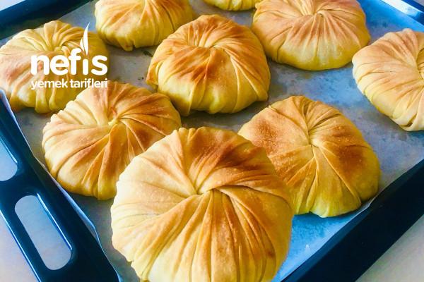 Patatesli Kıymalı Burgu Böreği (Videolu) Tarifi