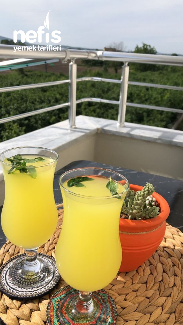 Yazın Favorisi Limonata Tarifi
