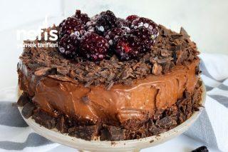 15 Dakikada Bol Çikolatalı Az Malzemeli Pasta Tarifi