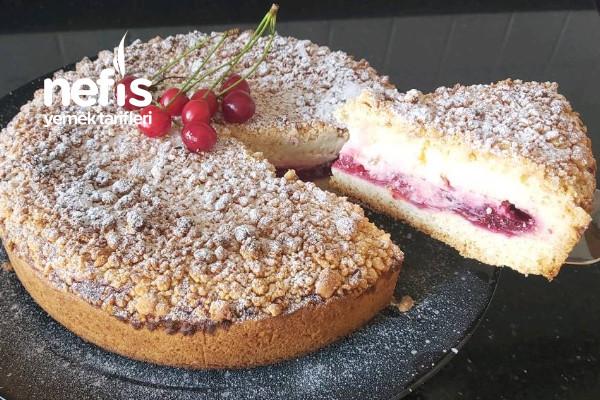 Böyle Bir Pasta Daha Önce Hiç Görülmedi /Vişneli Alman Pastası (Videolu) Tarifi