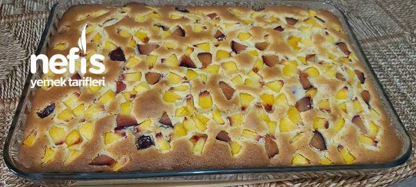 Taze Meyveli Borcam Keki