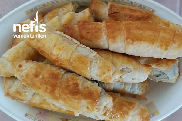 Çıtır mı Çıtırrrr Ispanaklı Peynirli Börek