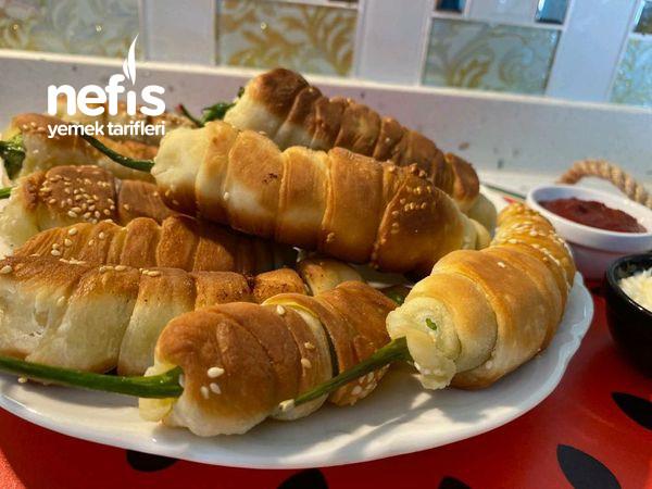 Kahvaltıya Değişik Tarif Arayanlar İçin Rulo Biberler