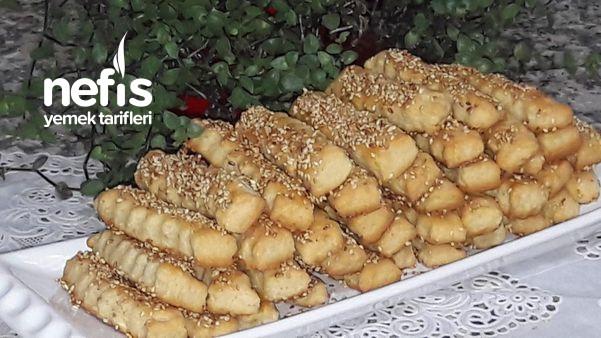 Tuzlu Susamlı Atıştırmalık Çubuklar (Kıyır Kıyır)