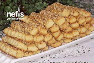 Tuzlu Susamlı Atıştırmalık Çubuklar (Kıyır Kıyır) Tarifi