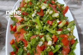 Yaz Salatası (Pratik Doyurucu) Tarifi