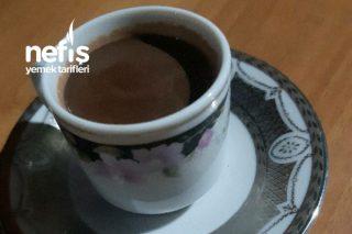 Kahve Fincanında Sıcak Çikolata Tarifi