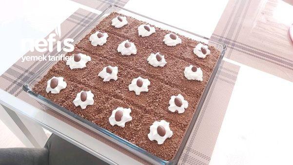 Kumlu Pasta Borcamda Yapılacak En Pratik Pasta (Videolu)