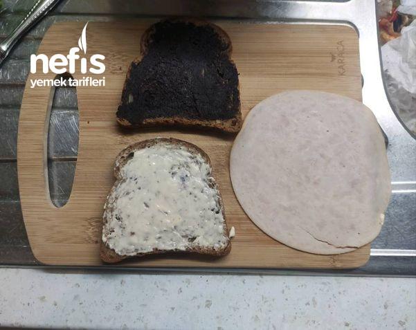 Tam Buğday Ekmekli Fit Sandviç