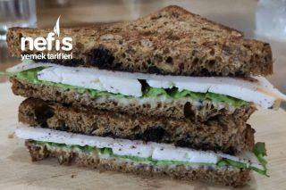 Tam Buğday Ekmekli Fit Sandviç Tarifi