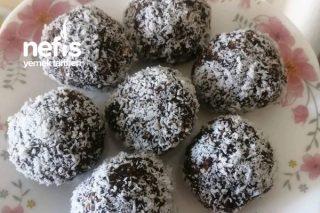 Kakaolu Ve Hurmalı Yulaf Topları Tarifi