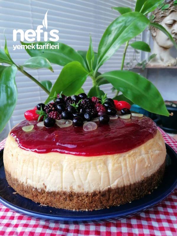 Orman Meyveli Cheesecake