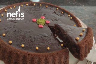 Bol Çikolatalı Tart Kek (Ganajlı Tart Kek) Tarifi