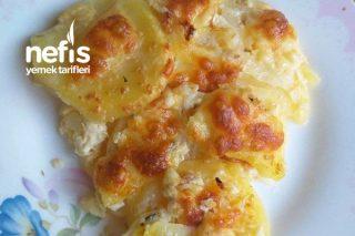 Börek Lezzetinde Fırında Sütlü Patates Tarifi