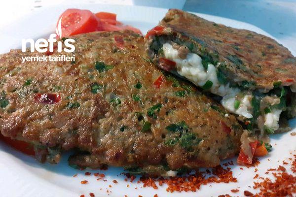 Patlıcan Sevmeyenlerin Bile Bayıla Bayıla Yiyeceği Patlıcan Omlet Tarifi