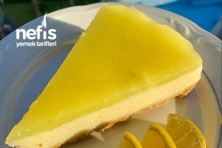 Limonlu Cheesecake Tadında Pasta Tarifi