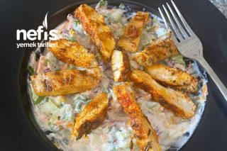 Tavuklu Diyet Salatası Tarifi