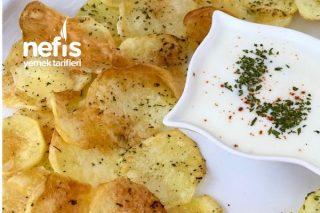 Fırında Sağlıklı Çıtır Patates Cips Tarifi