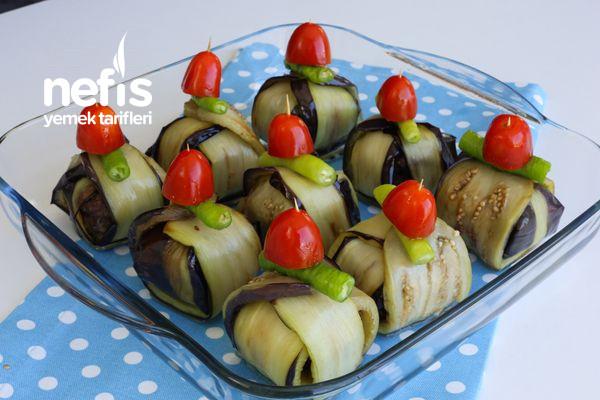 Köfteli Patlıcan Bohçası Tarifi (Kürdan Kebabı)-1455-070827