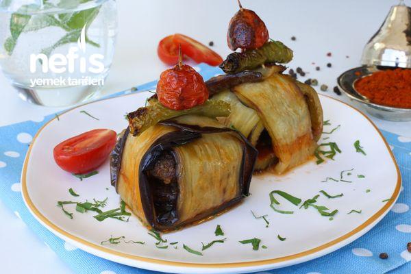 Köfteli Patlıcan Bohçası Tarifi (Kürdan Kebabı)-1455-070822