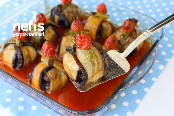 Köfteli Patlıcan Bohçası Tarifi (Kürdan Kebabı)-1455-140824