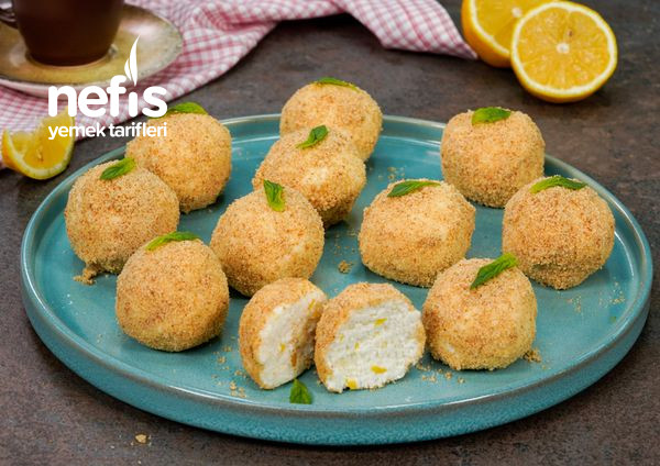 Limonlu Cheesecake Topları