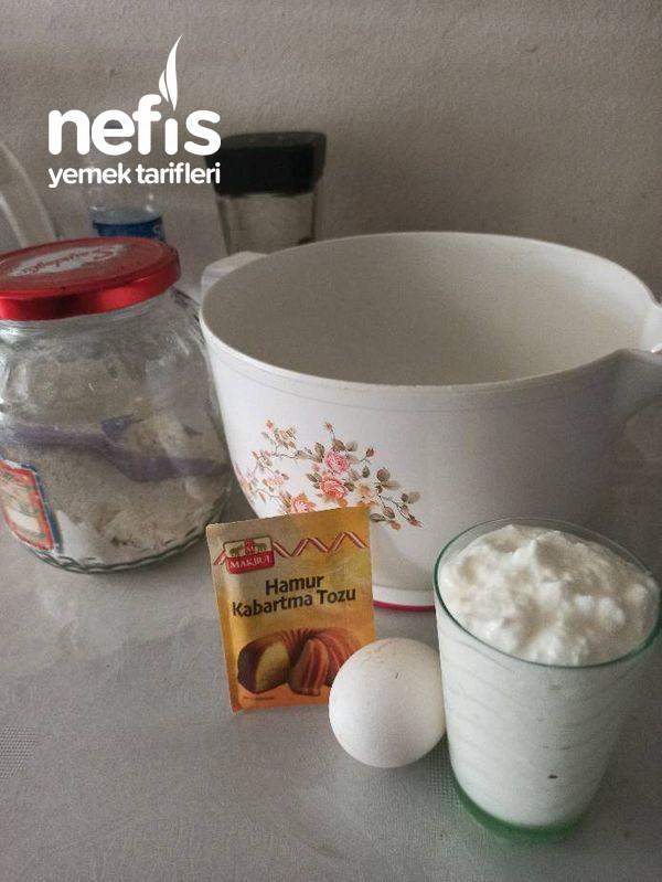 Şekerli Ve Çikolata Dolgulu Mayasız Hamur (Bomba Kadar Lezzetli)