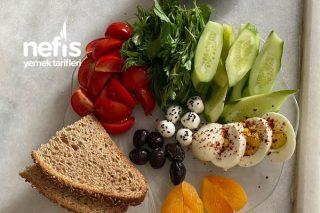 Öğle Kahvaltısı Diyet Menüsü Tarifi