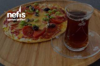 Yulaflı Omlet Pizza Tarifi