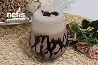 Buz Gibi Kakaolu Krem Şantili Milkshake Tarifi