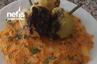 Ekşili Salçalı Patates Salatası Tarifi