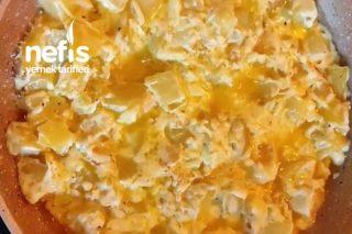 Karamalize Soğanlı Kremalı Patates Tarifi