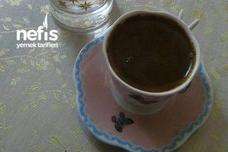 1 Kişilik Kahve Tarifi