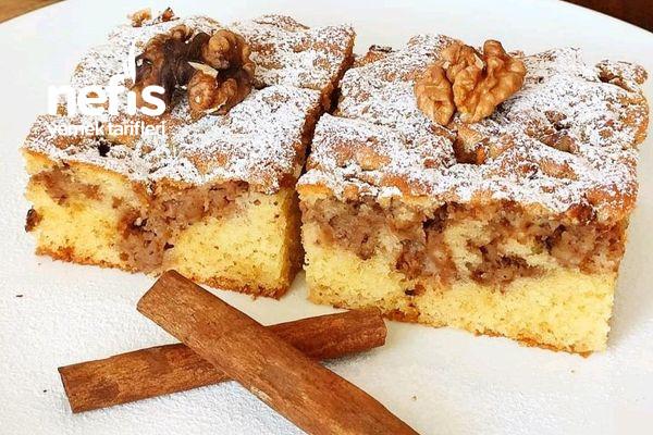 Arası Elmalı Kek Tarifi