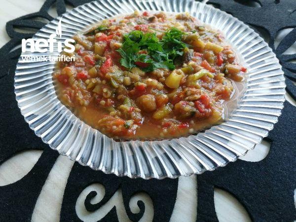 Patlıcanlı Ve Biberli (Közlenmiş)  Sos (Kışa Kalmayacak Tadına Doyamayacaksınız)
