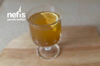 Soğuk Algınlığı Ve Öksürük İçin 2 Tane Kür Limonlu Zencefilli Tarifi