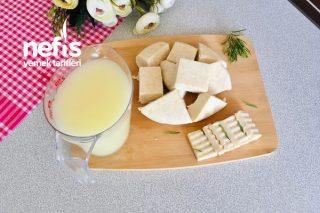 Mayasız Kaşar Peyniri Lezzetinde Beyaz Peynir Tarifi (Videolu)