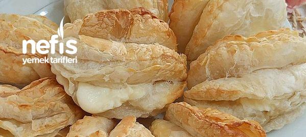 İncili Çıtır Milföy  Kahvaltıya 2 Malzemeli