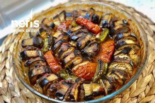 Nefis Fırında Patlıcan Kebabı Tarifi