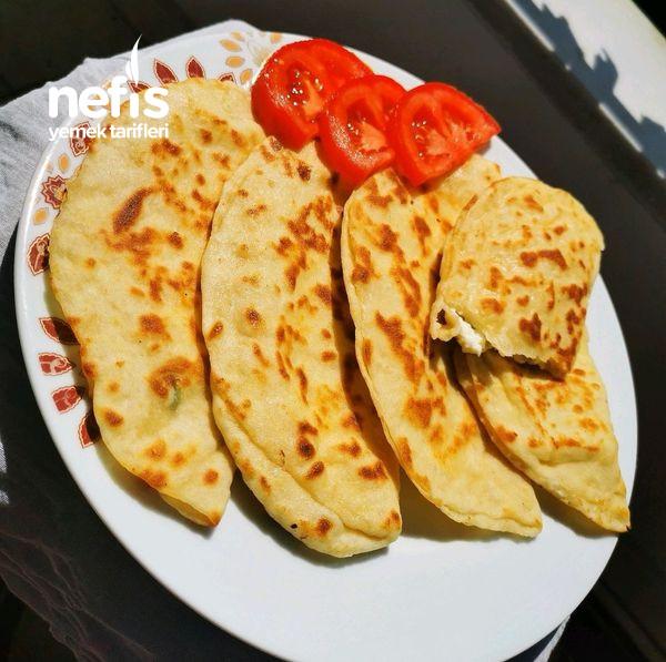 4 Malzemeli Pratik Kahvaltı Pofuduğu (İçi Dolgulu)